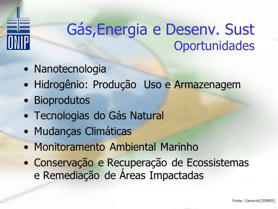 Gás,Energia e Desenv.