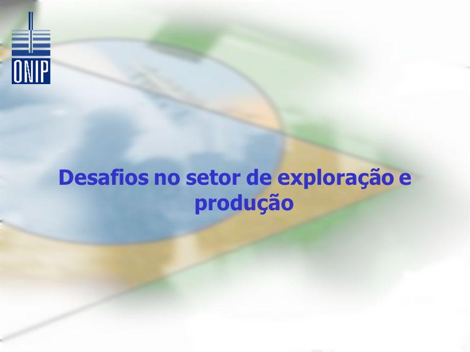 Desafios no setor de exploração e produção