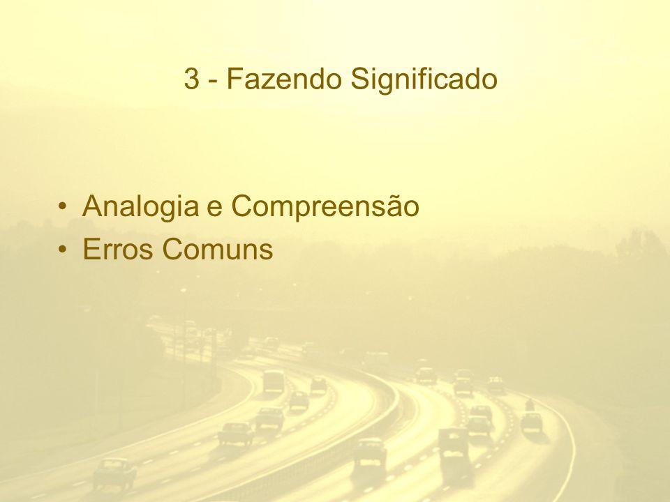 3 - Fazendo Significado Analogia e Compreensão Erros Comuns