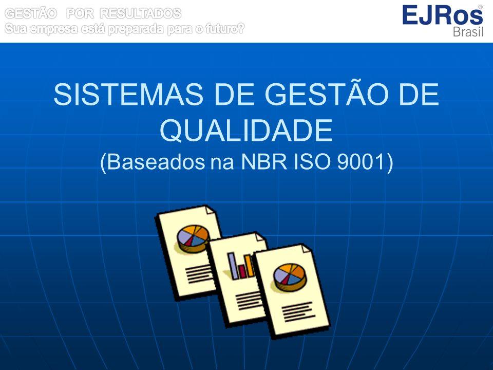SISTEMAS DE GESTÃO DE QUALIDADE (Baseados na NBR ISO 9001)