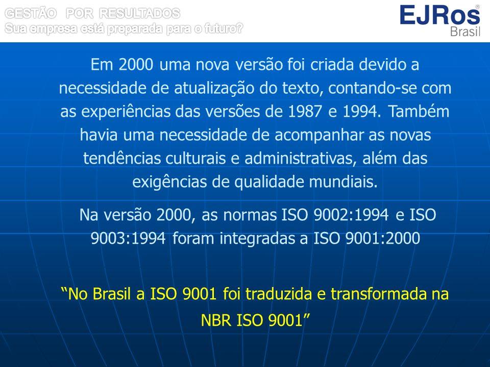 Em 2000 uma nova versão foi criada devido a necessidade de atualização do texto, contando-se com as experiências das versões de 1987 e 1994. Também ha