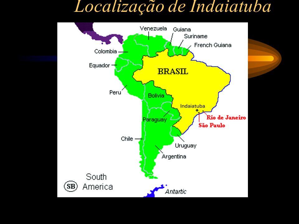 Localização de Indaiatuba