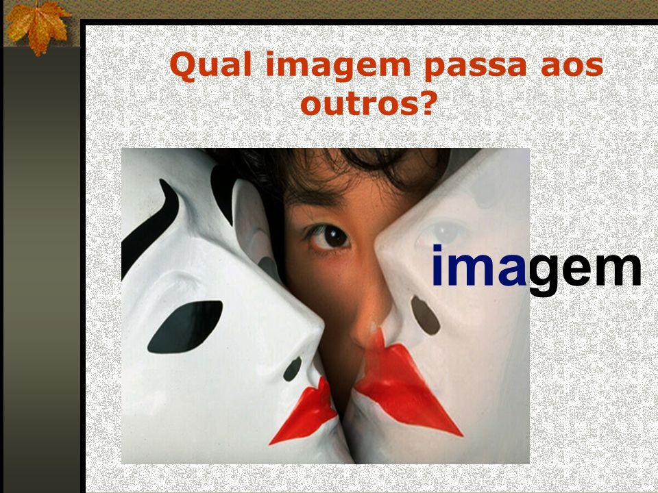 Qual imagem passa aos outros? imagem ima