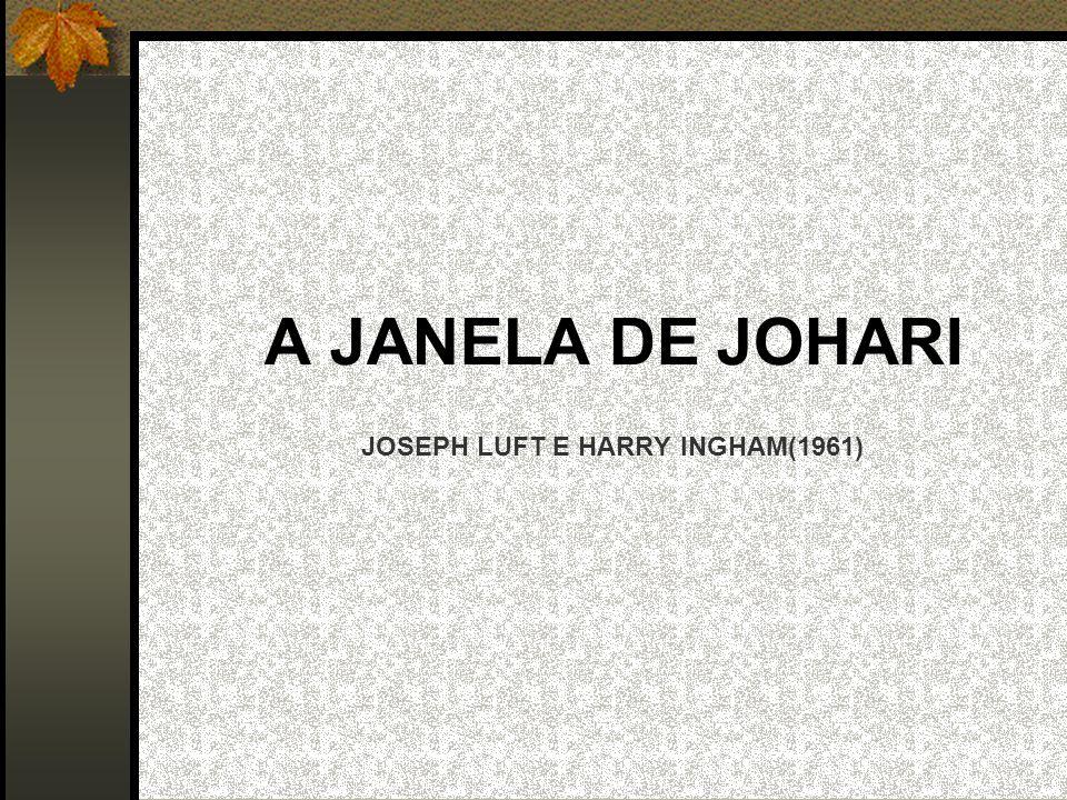 A JANELA DE JOHARI JOSEPH LUFT E HARRY INGHAM(1961)