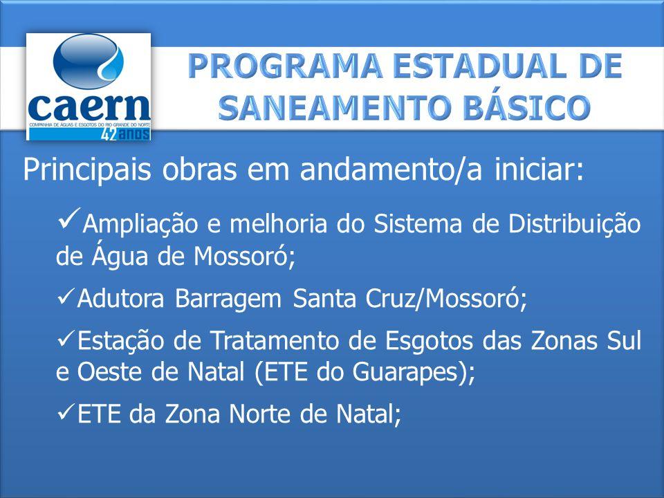 Morro Branco; Nova Descoberta; Mãe Luiza; Capim Macio; San Vale; Felipe Camarão; Guarapes; Cidade Nova; Bom Pastor; Redinha; Planalto.