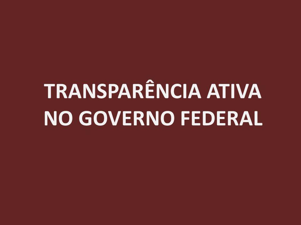 O PORTAL DA TRANSPARÊNCIA Informações disponíveis Convênios Imóveis funcionais Rede de transparência Links para informações disponíveis no Governo Federal
