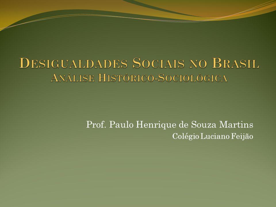 Constituição da sociedade brasileira No período Colonial, a sociedade brasileira se construiu pela diferenciação de forças entre os grupos básicos que a compunham.