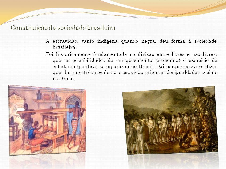 Constituição da sociedade brasileira: pós-abolição (séc.