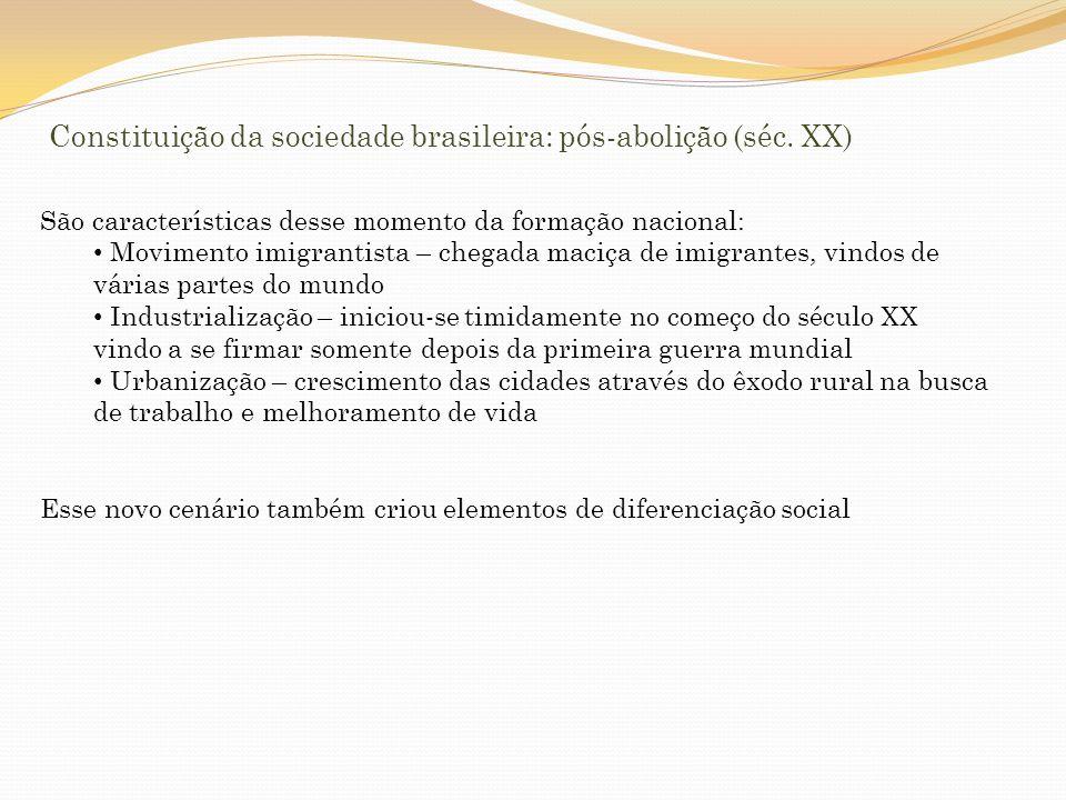 INDUSTRIALIZAÇÃO Indústria paulista do começo do séc.