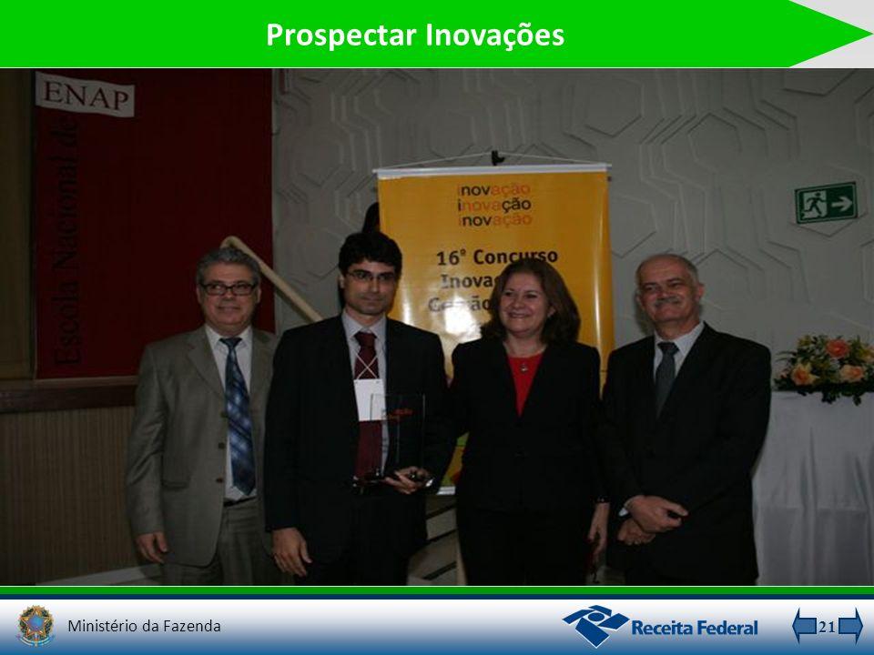 21 Prospectar Inovações Ministério da Fazenda