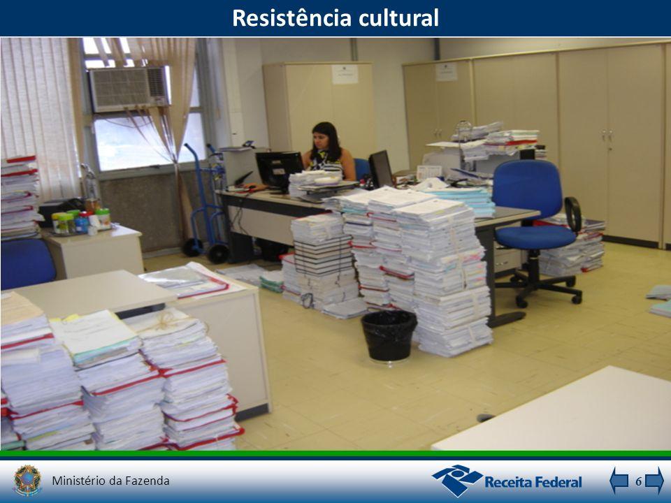 6 Resistência cultural Ministério da Fazenda