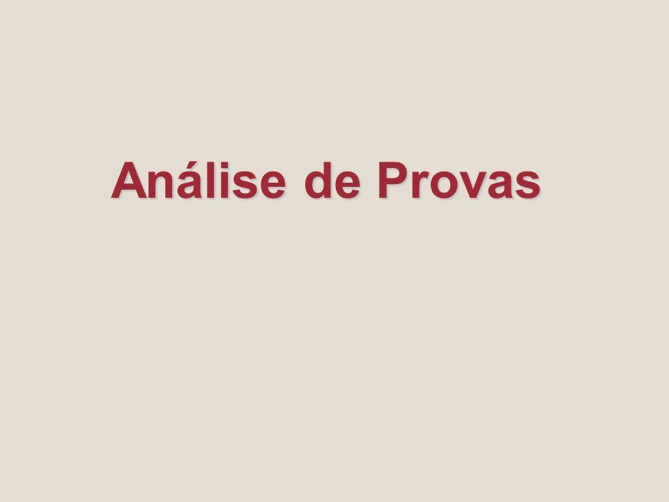 Análise de Provas