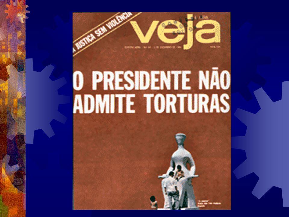 Ulysses Guimarães e Francelino Pereira (Veja, 03/11/1976)