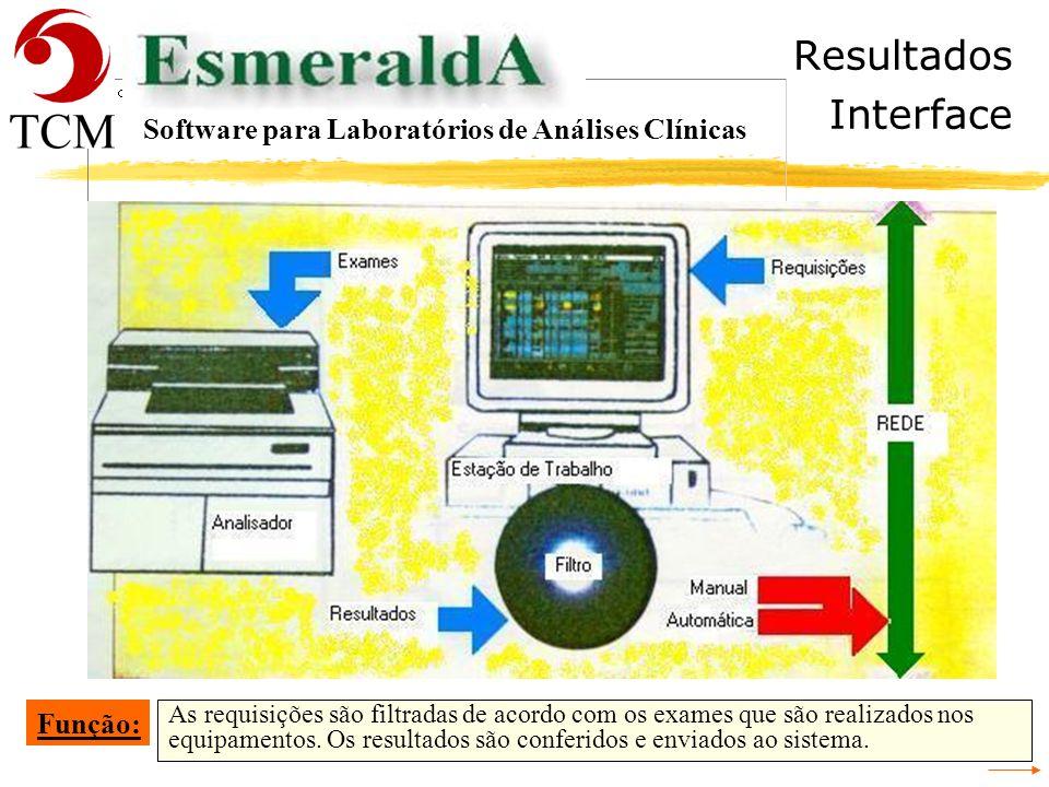 Tópicos Material Software para Laboratórios de Análises Clínicas - Recepção - Cadastrar a Requisição - Conferência da Digitação da Requisição - Identi