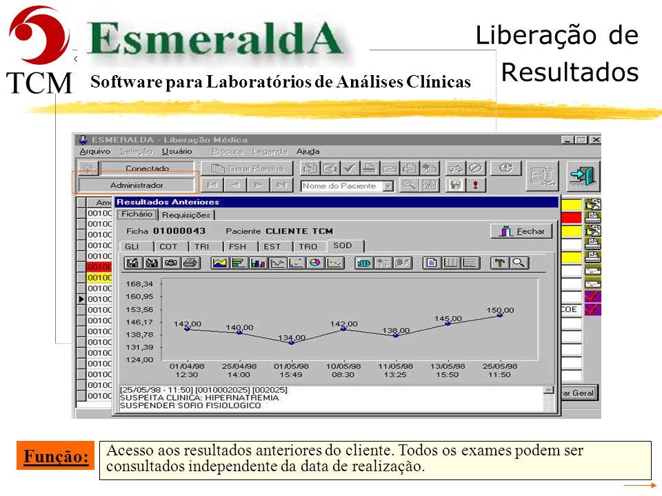 Tópicos Interface Software para Laboratórios de Análises Clínicas - Recepção - Cadastrar a Requisição - Conferência da Digitação da Requisição - Ident