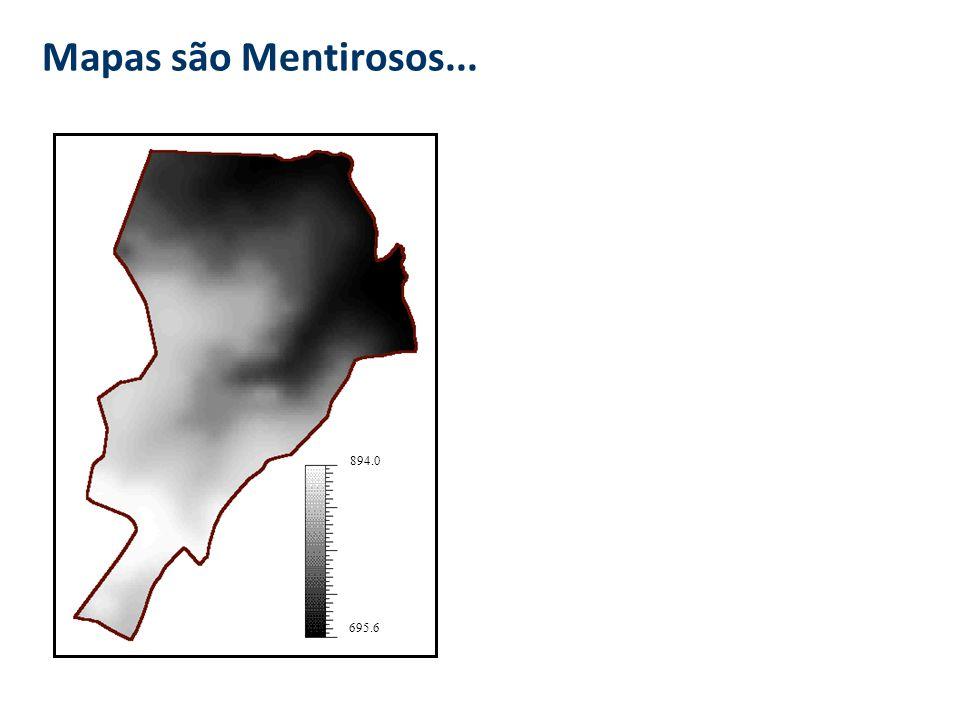 A Geografia Quantitativa e o GIS Expressão computacional da Geog. Quant. repres. básica - superfície (MNT) conceitos - autocorrelação espacial e proce