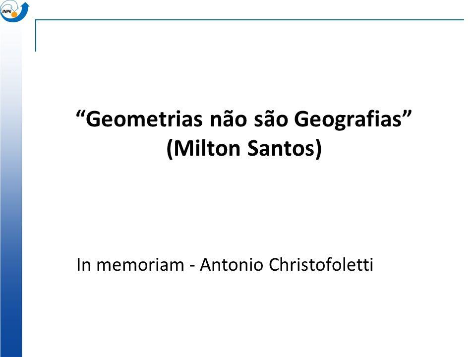 Em Conclusão: Rumo a novas gerações de GIS GIS hoje sistemas cartográficos de informação Futuras gerações de GIS incorporar modelos espaço-temporais s