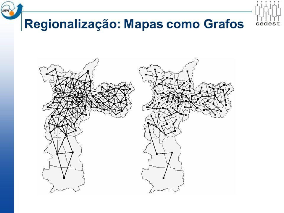 Regionalização: Mapas como Grafos