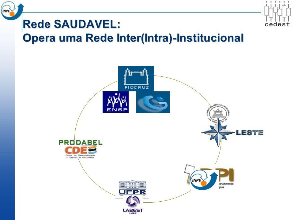 Rede SAUDAVEL: Opera uma Rede Inter(Intra)-Institucional