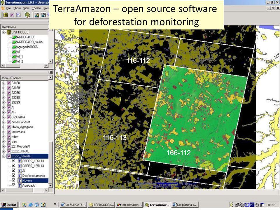 166-112 116-113 116-112 TerraAmazon – open source software for deforestation monitoring