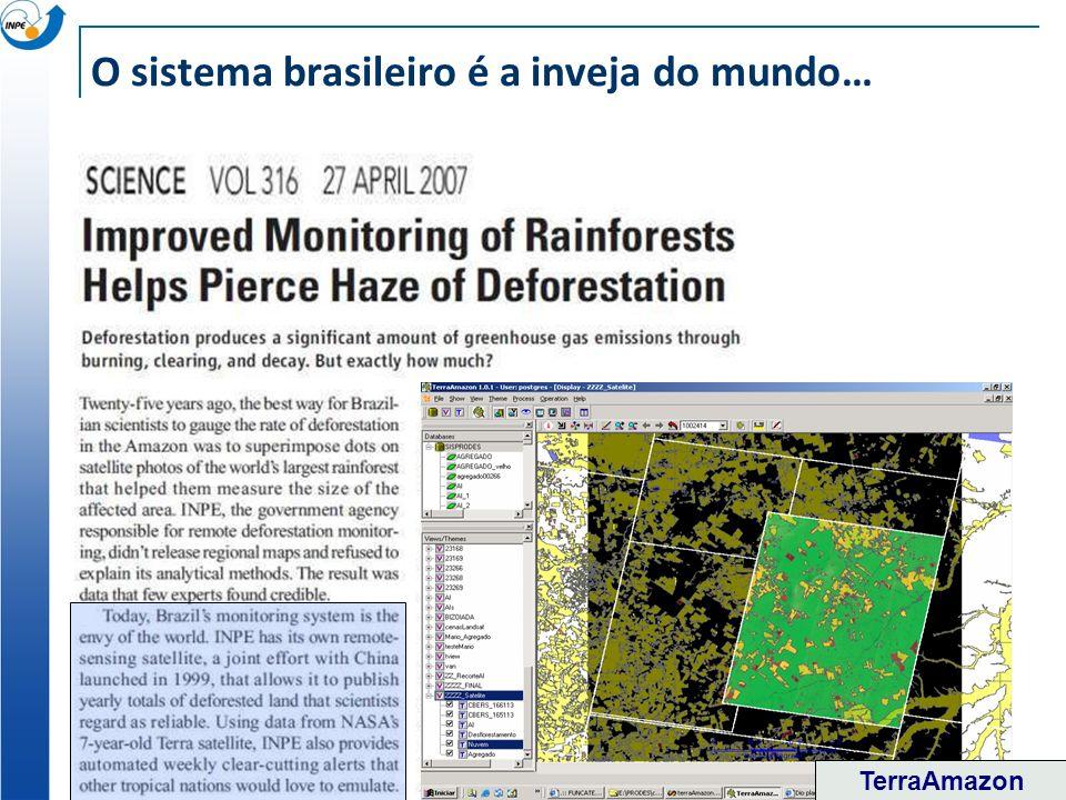 O sistema brasileiro é a inveja do mundo… TerraAmazon