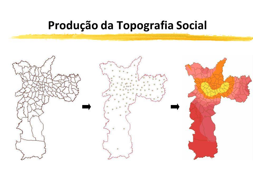 Produção da Topografia Social