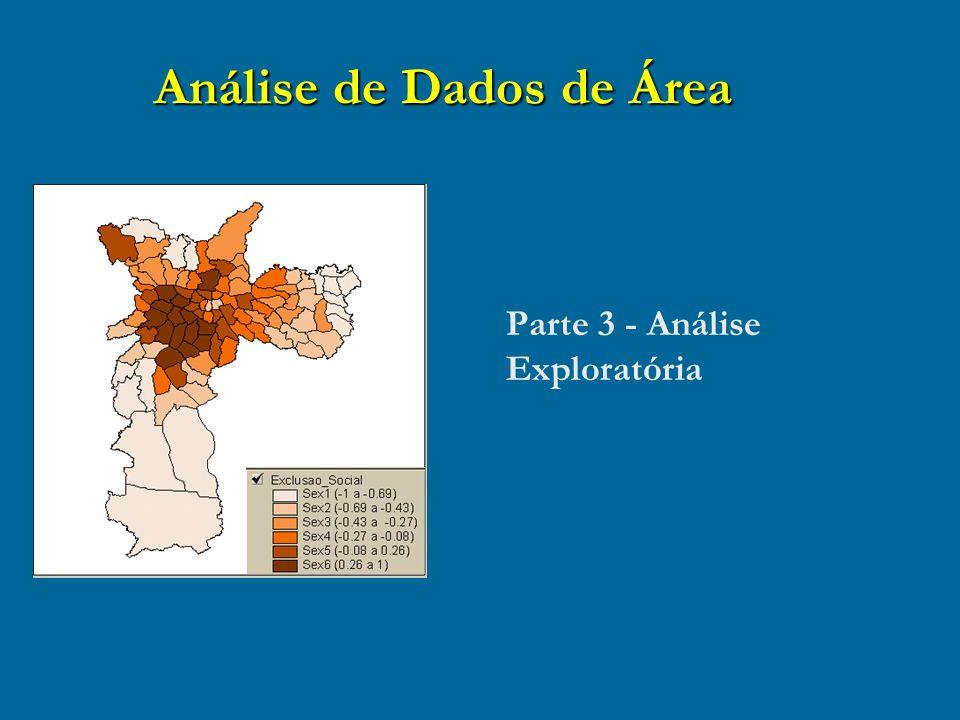 Análise de Dados de Área Parte 3 - Análise Exploratória