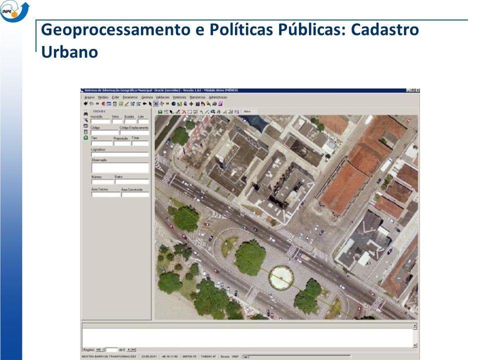 Geoprocessamento e Políticas Públicas: Cadastro Urbano