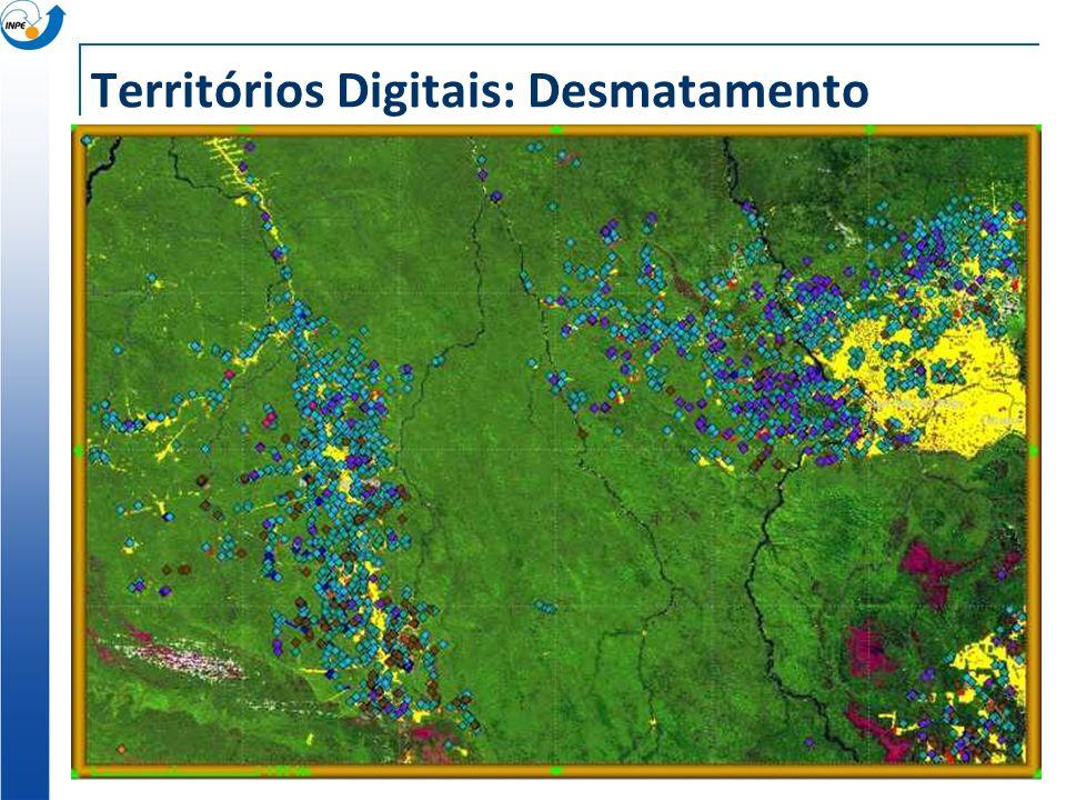 Territórios Digitais: Desmatamento