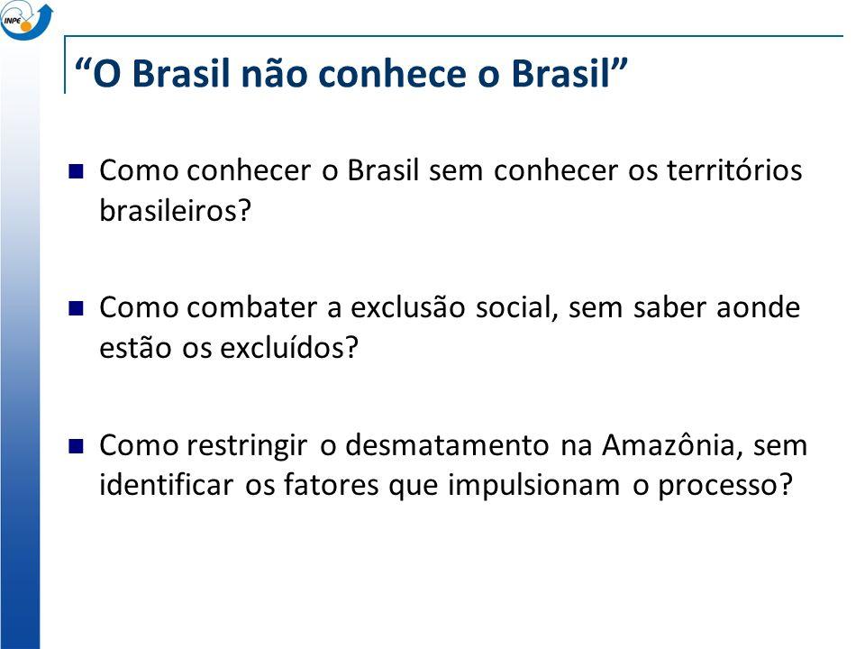 O Brasil não conhece o Brasil Como conhecer o Brasil sem conhecer os territórios brasileiros.