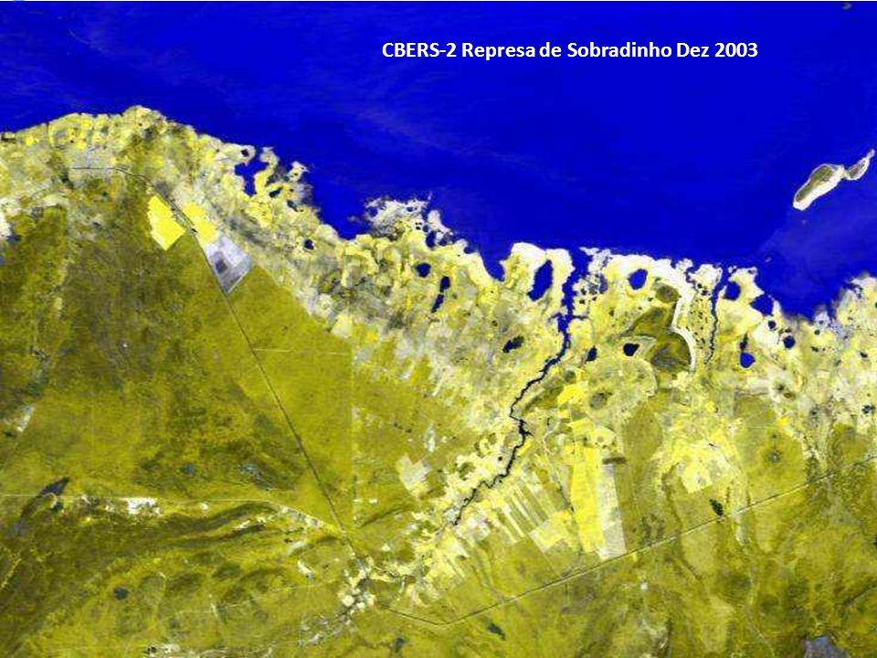 CBERS-2 Represa de Sobradinho Dez 2003