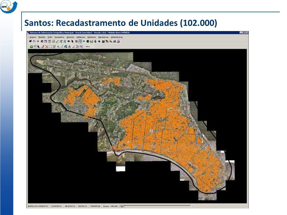Santos: Recadastramento de Unidades (102.000)