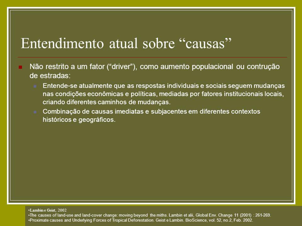 Exemplo: Dinâmica Construído inicialmente para simulação de dinâmica da paisagem na Amazônia: Mato Grosso (Tese Britaldo) Santa Cruz – Bolívia (construção de estrada) Cuiabá-Santarém (cenário de governança e não governança) Aplicado também para áreas urbanas (Claudia Almeida-INPE)