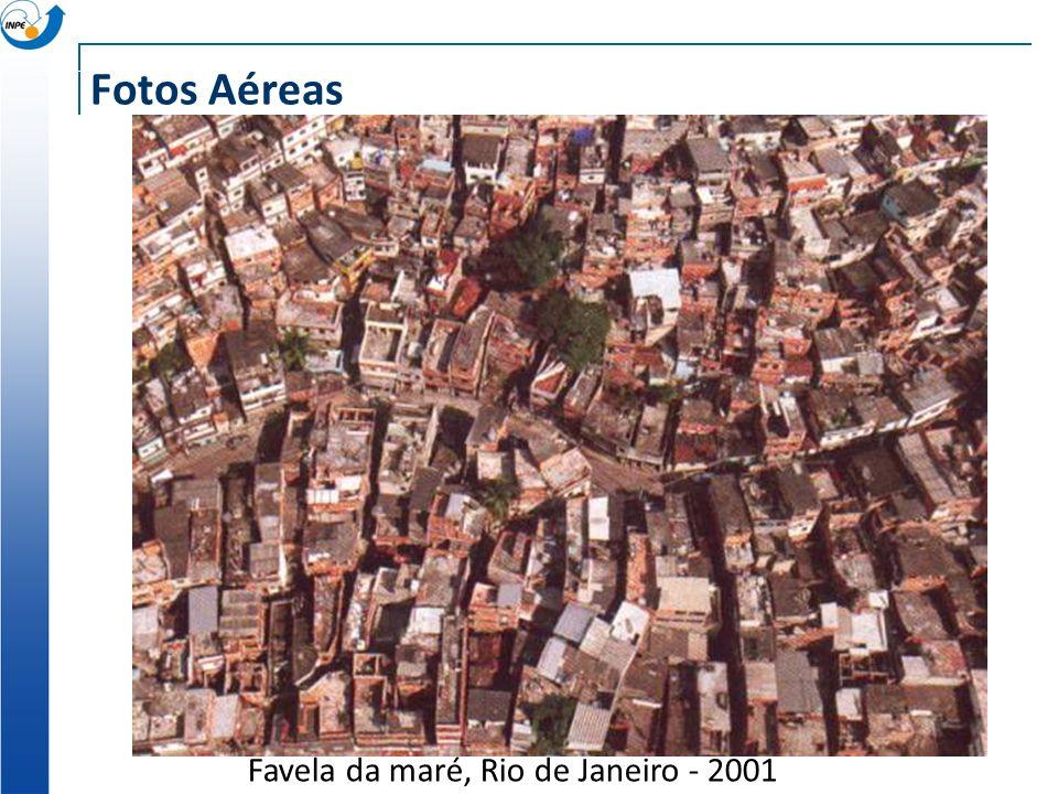 Favela da maré, Rio de Janeiro - 2001 Fotos Aéreas