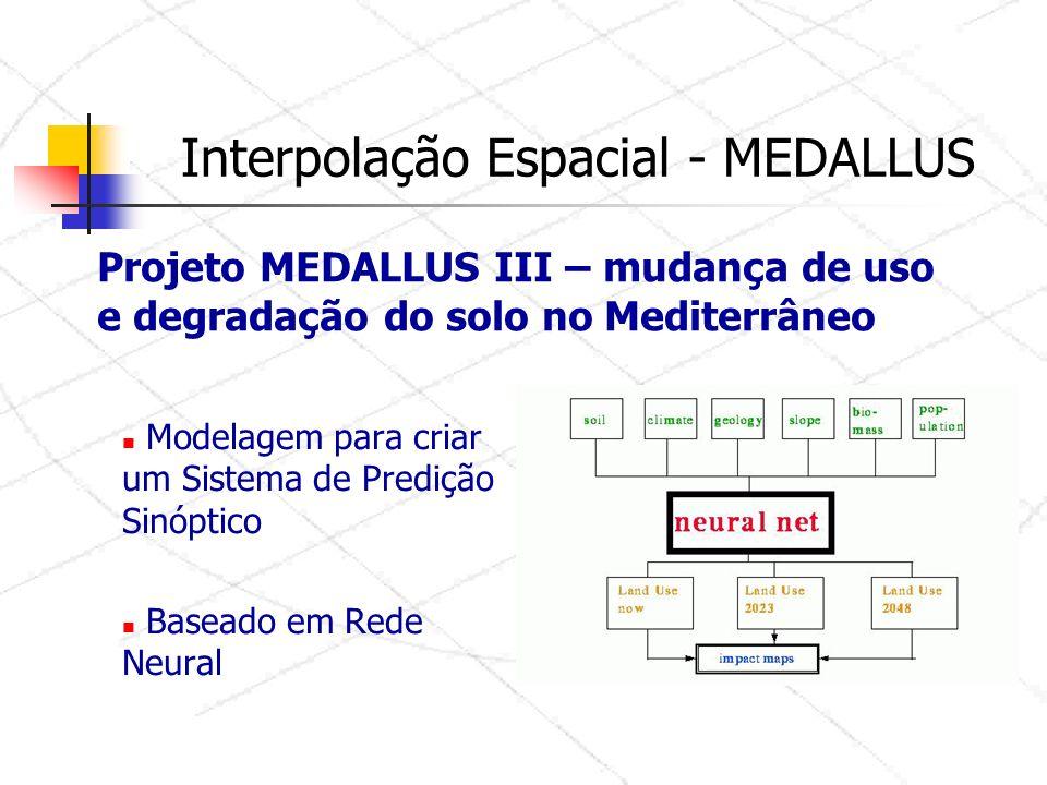 Modelagem para criar um Sistema de Predição Sinóptico Baseado em Rede Neural Projeto MEDALLUS III – mudança de uso e degradação do solo no Mediterrâneo