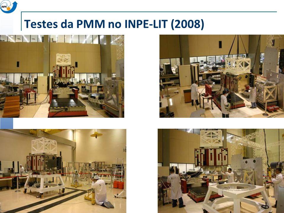 Testes da PMM no INPE-LIT (2008)