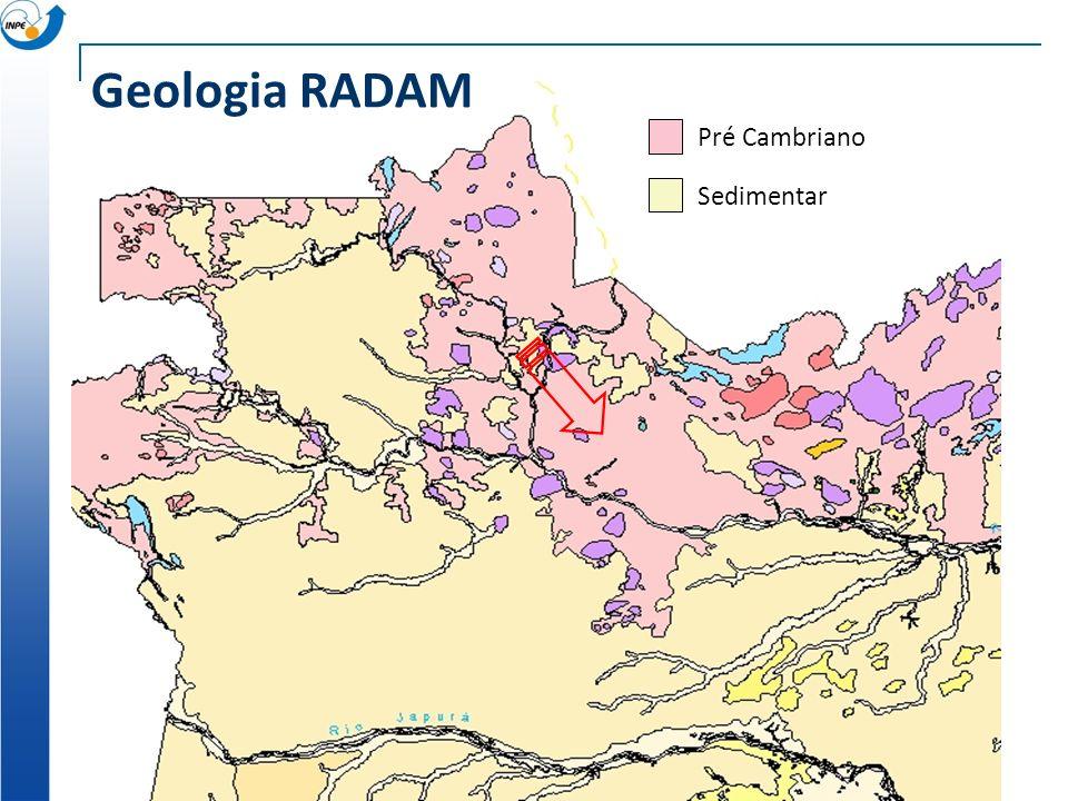 Pré Cambriano Sedimentar Geologia RADAM