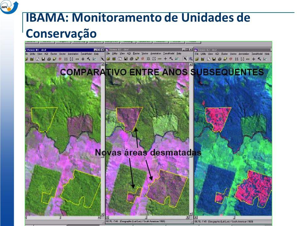 IBAMA: Monitoramento de Unidades de Conservação