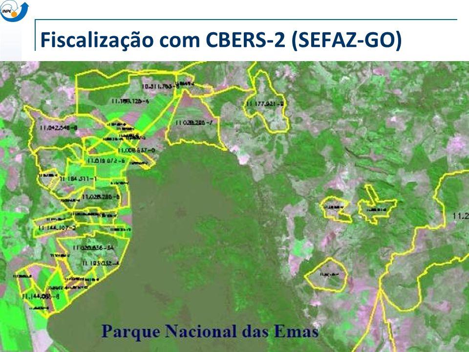 Fiscalização com CBERS-2 (SEFAZ-GO)