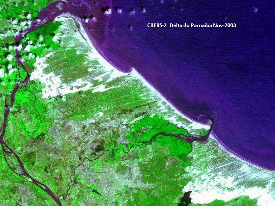 CBERS-2 Delta do Parnaíba Nov-2003