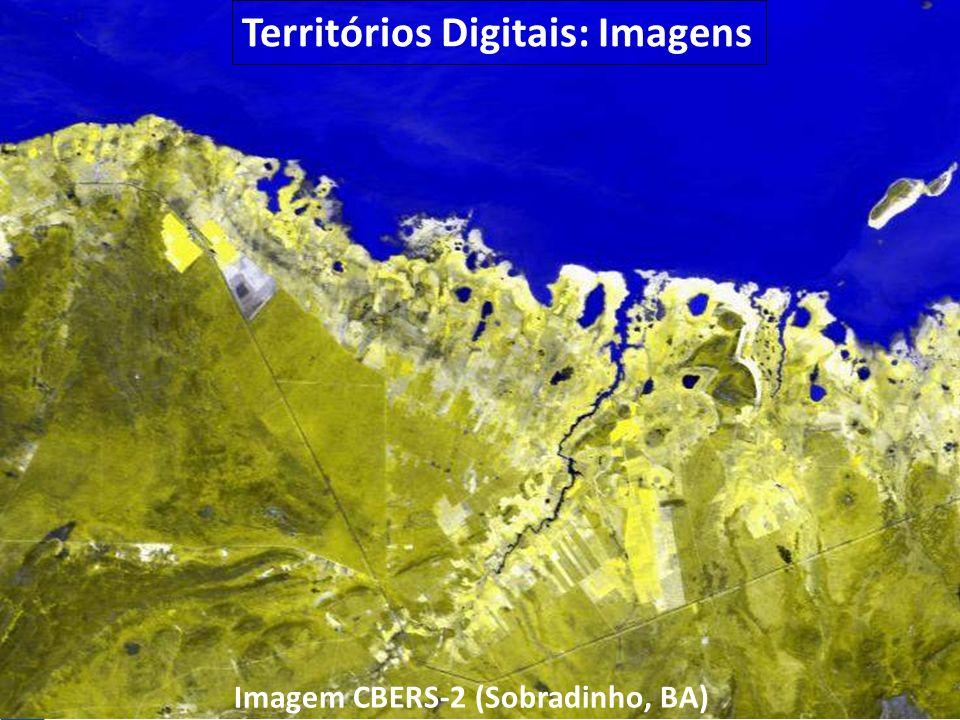 Territórios Digitais: Imagens Imagem CBERS-2 (Sobradinho, BA)