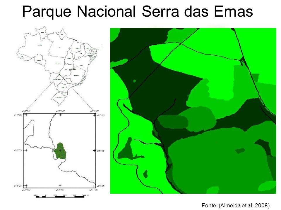 STUDY AREA Parque Nacional Serra das Emas Fonte: (Almeida et al, 2008)