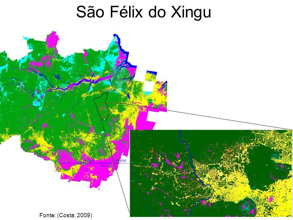 STUDY AREA São Félix do Xingu Fonte: (Costa, 2009)