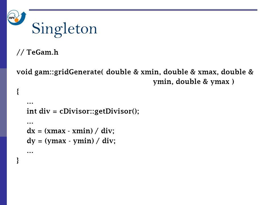 // TeGam.h void gam::gridGenerate( double & xmin, double & xmax, double & ymin, double & ymax ) {...