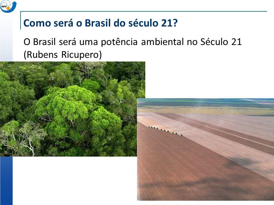 Como será o Brasil do século 21.