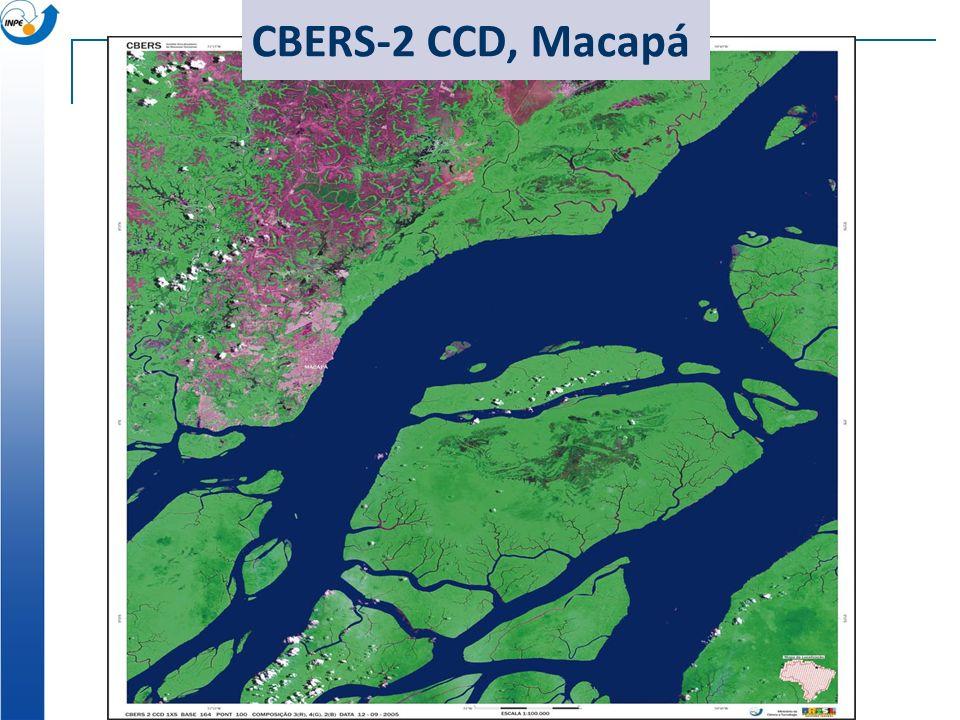 CBERS-2 CCD, Macapá