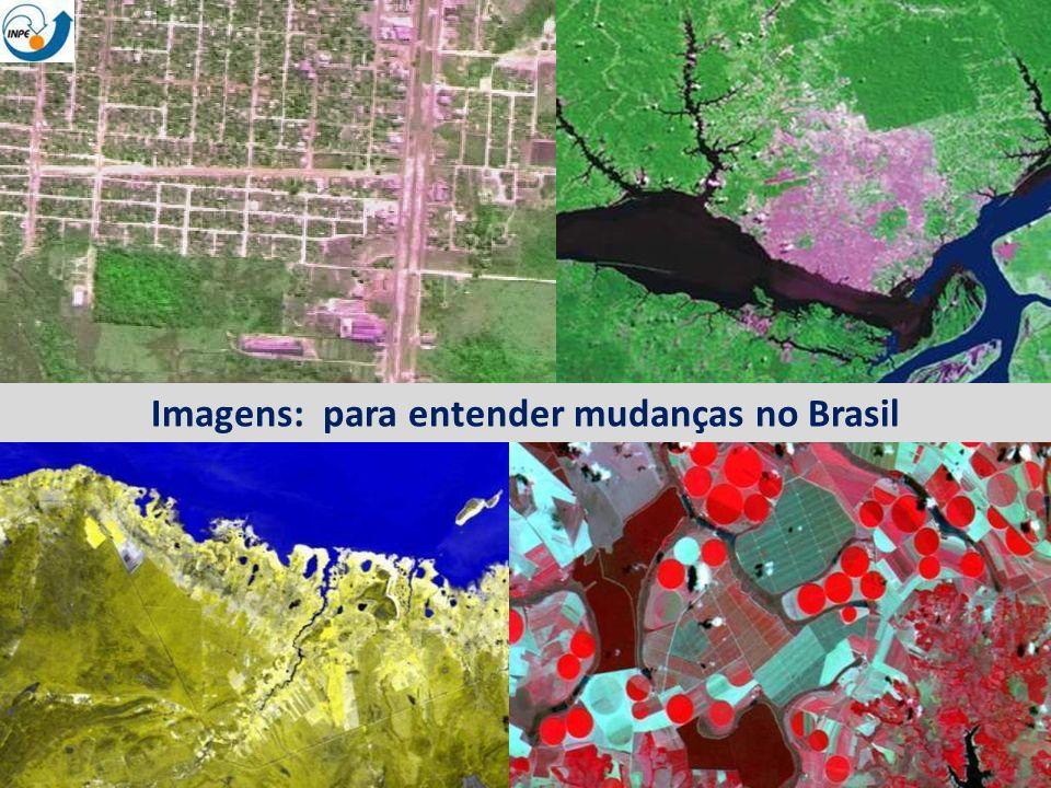 ~230 scenes Landsat/year Taxa anual de desmatamento Monitoramento do desmatamento da Amazônia