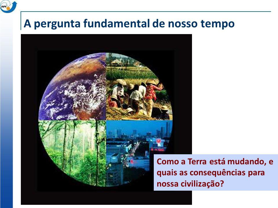 A pergunta fundamental de nosso tempo Como a Terra está mudando, e quais as consequências para nossa civilização?