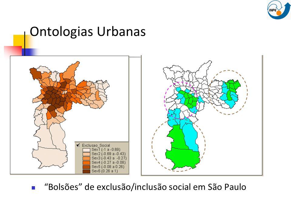 Ontologias Urbanas Bolsões de exclusão/inclusão social em São Paulo