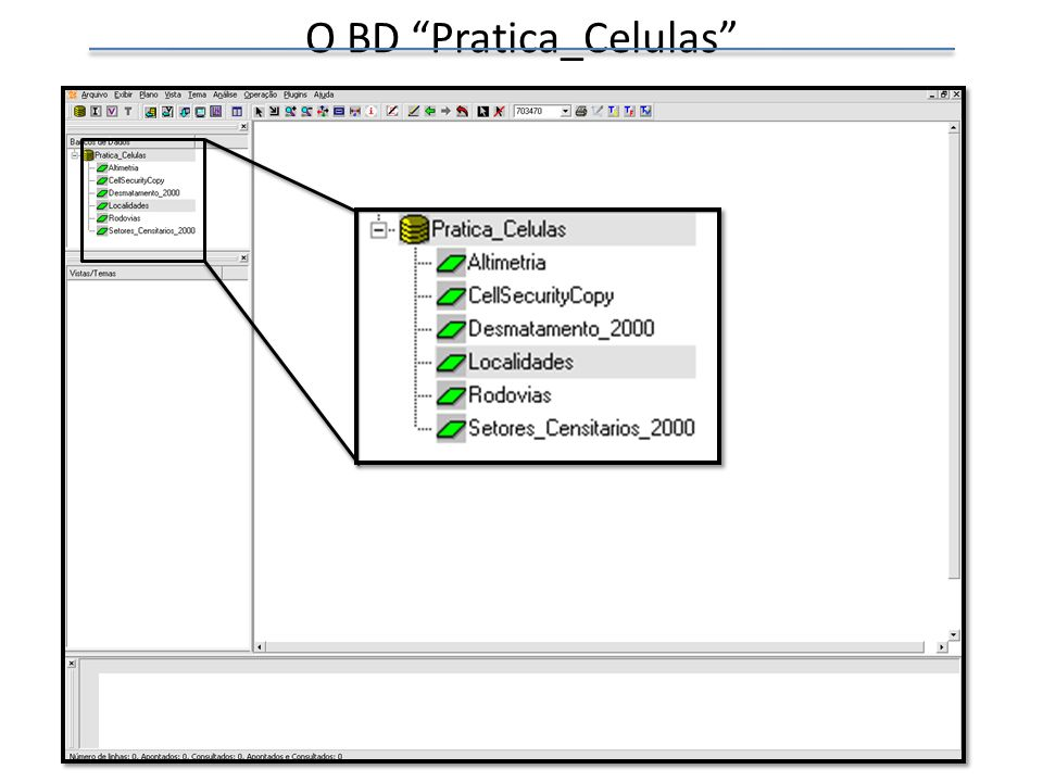 Visualizando os dados Adicionar Vista Nome da Vista: Dados Criar Vista OK